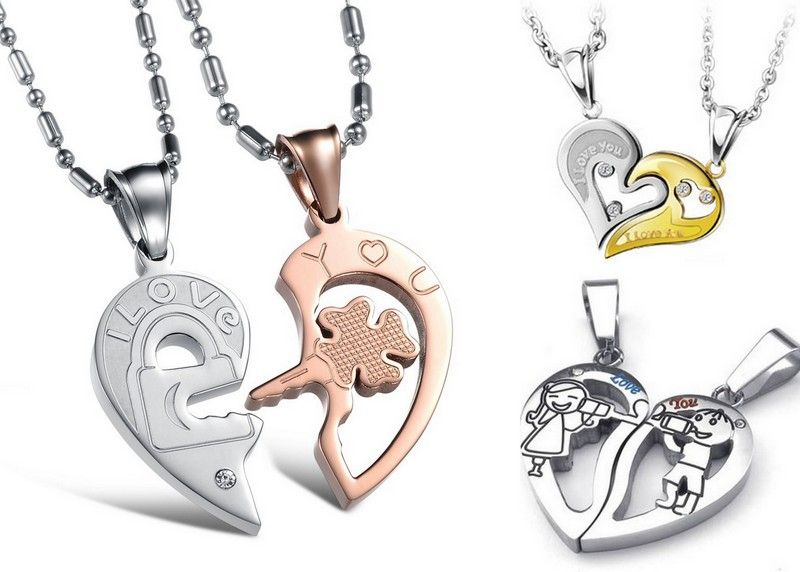 Hearts seperate jewelry Love