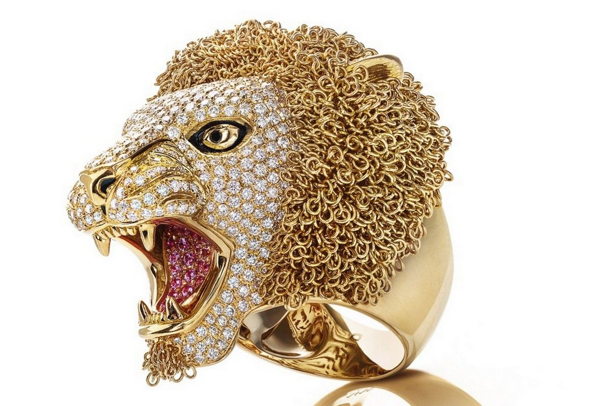 Roberto Coin ring Lion Gold Jewelry Bizzita