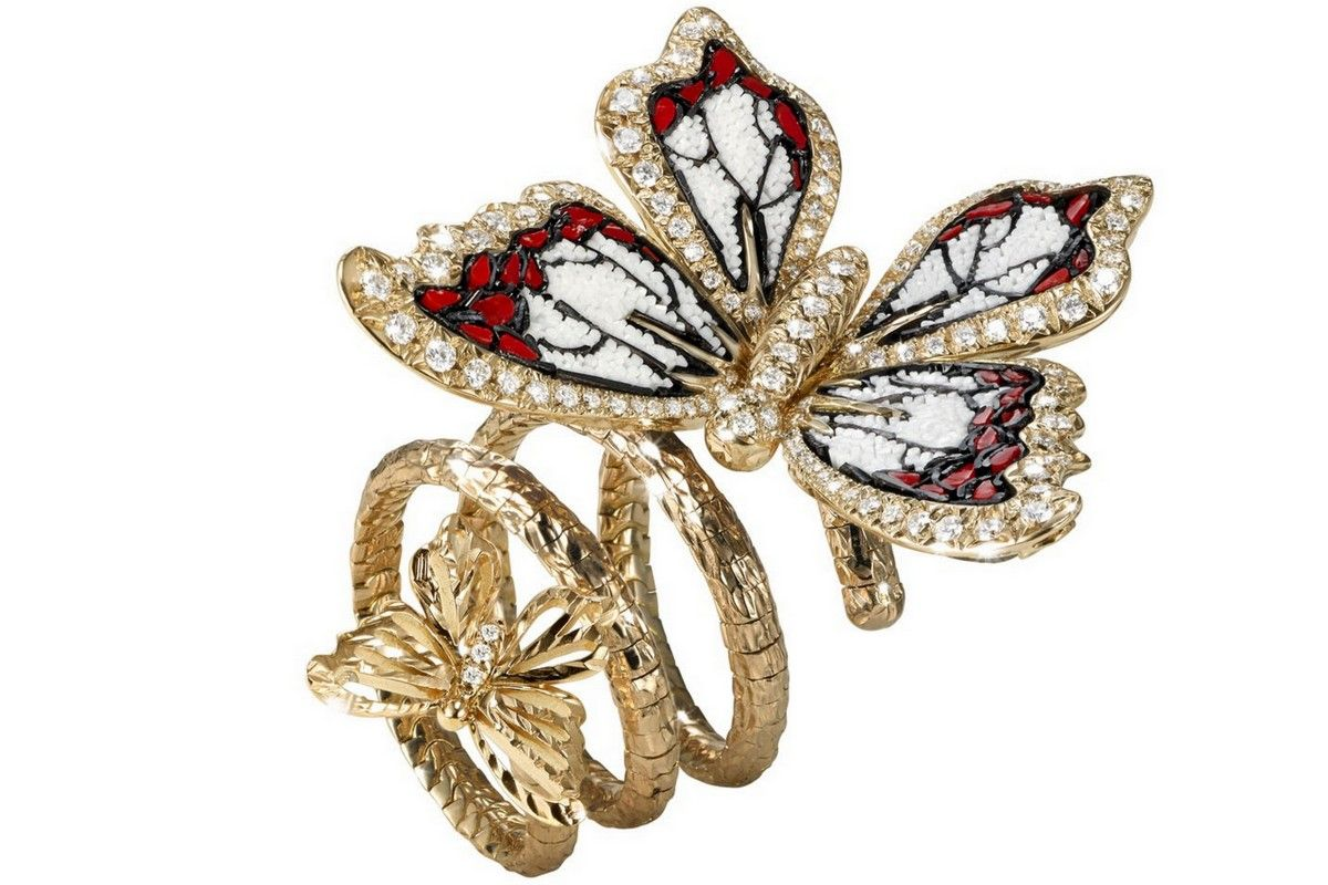 SICIS butterfly ring jewelry bizzita