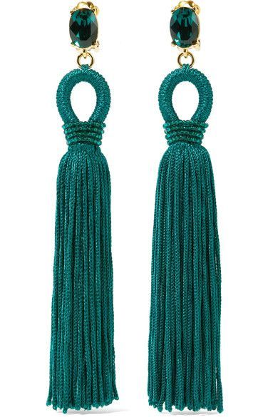 Oscar de laRentaEarrings Favorite Fashion jewelryTassel