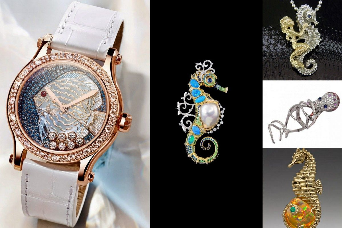 Seahorses jewelry CHopard
