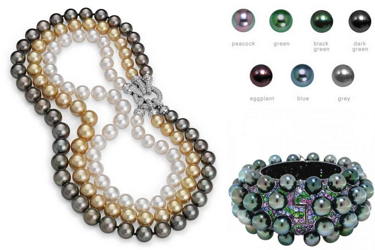 from pearls peacock tahitian tahiti aaa loose green product pearl