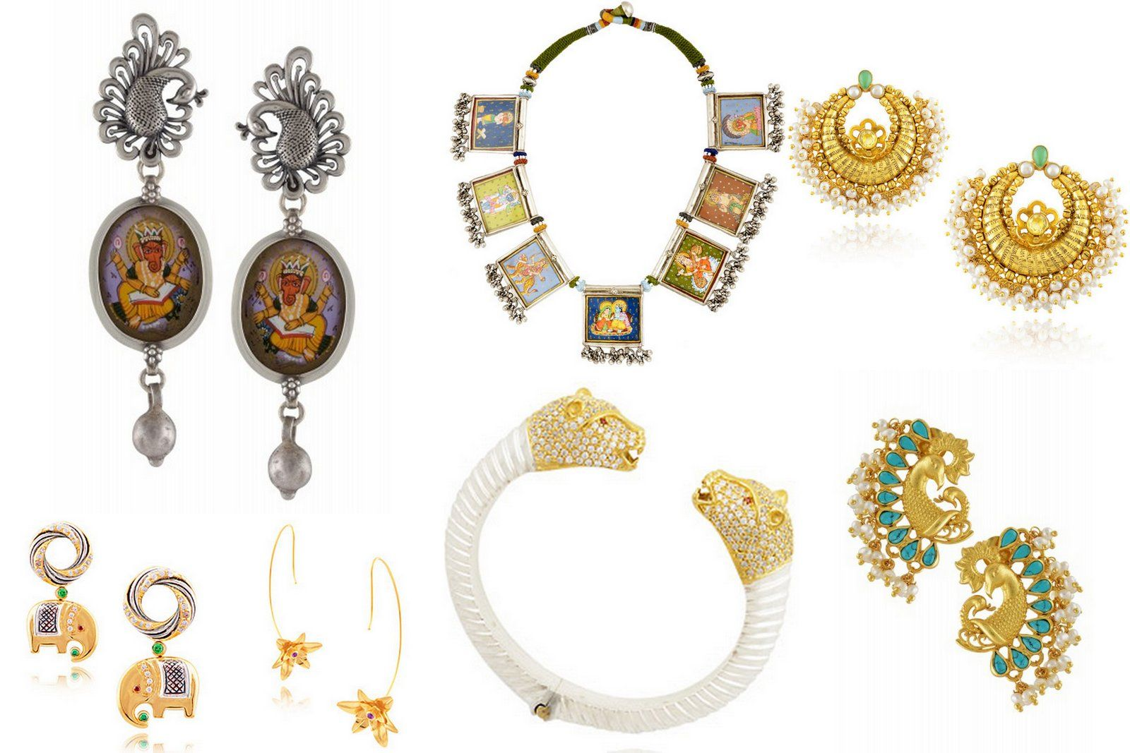 Discovering 4 beautiful indian jewelry brands for East indian jewelry online
