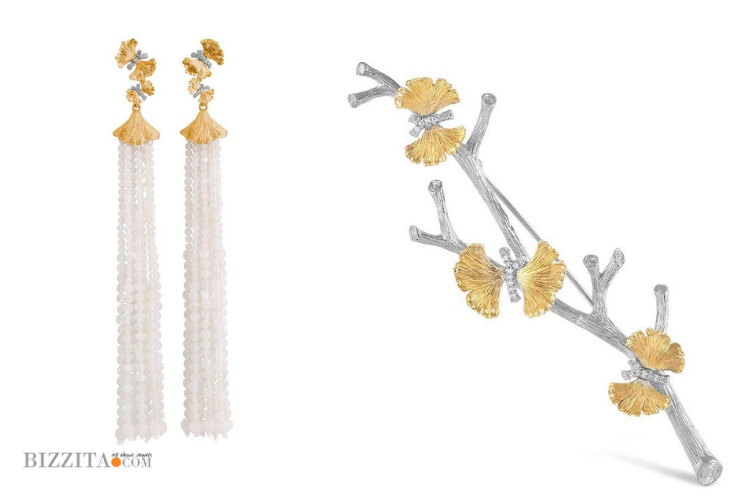 Michael Aram Jewelry discovery jewelryblogger Jewelryblog of the day Earring Brooch