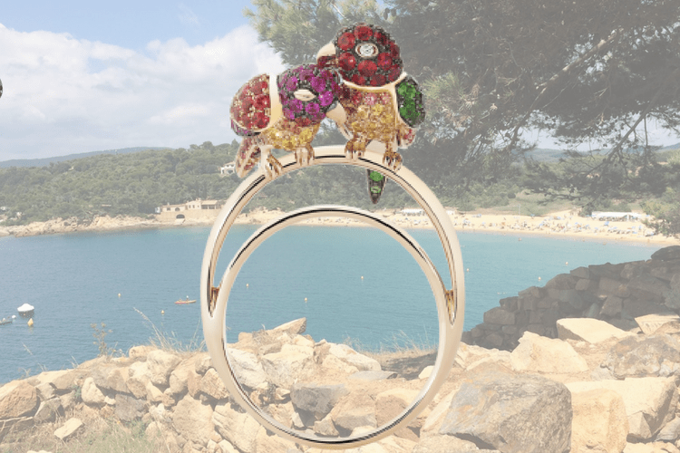 Boucheon Parrot Ring