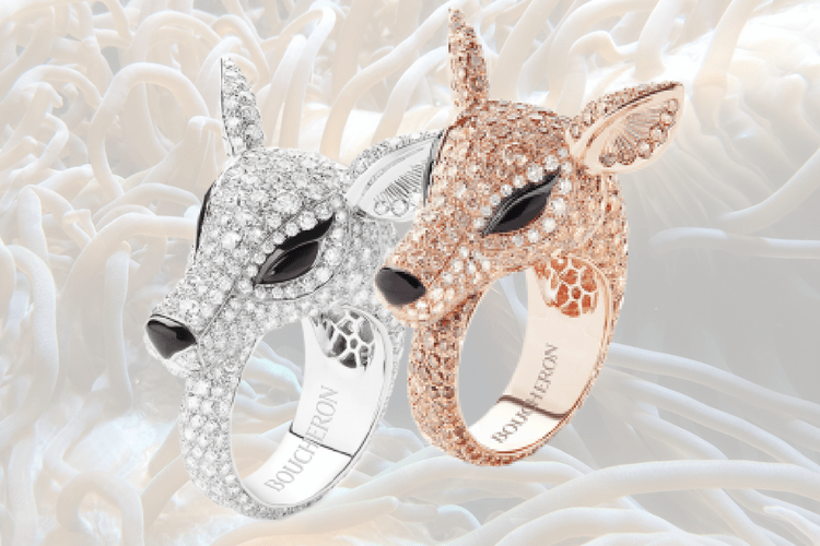 Boucheron Deer Ring