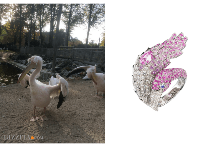 Boucheron Flamengo Jewelry animalier blog