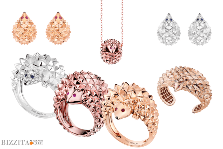 Boucheron Hedgehog Jewelry Blog