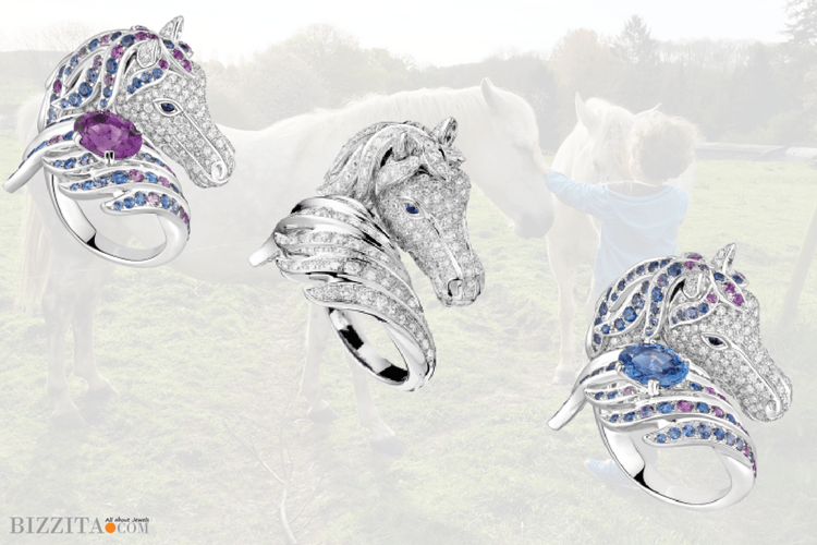 Boucheron Horses Ring