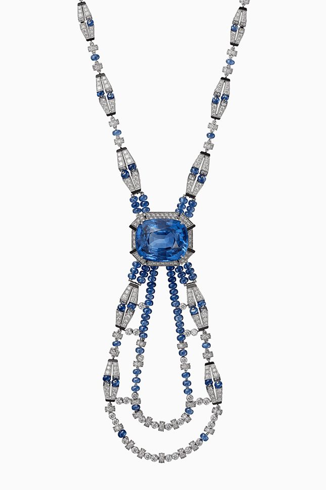 Cartier Resonances Necklace blue