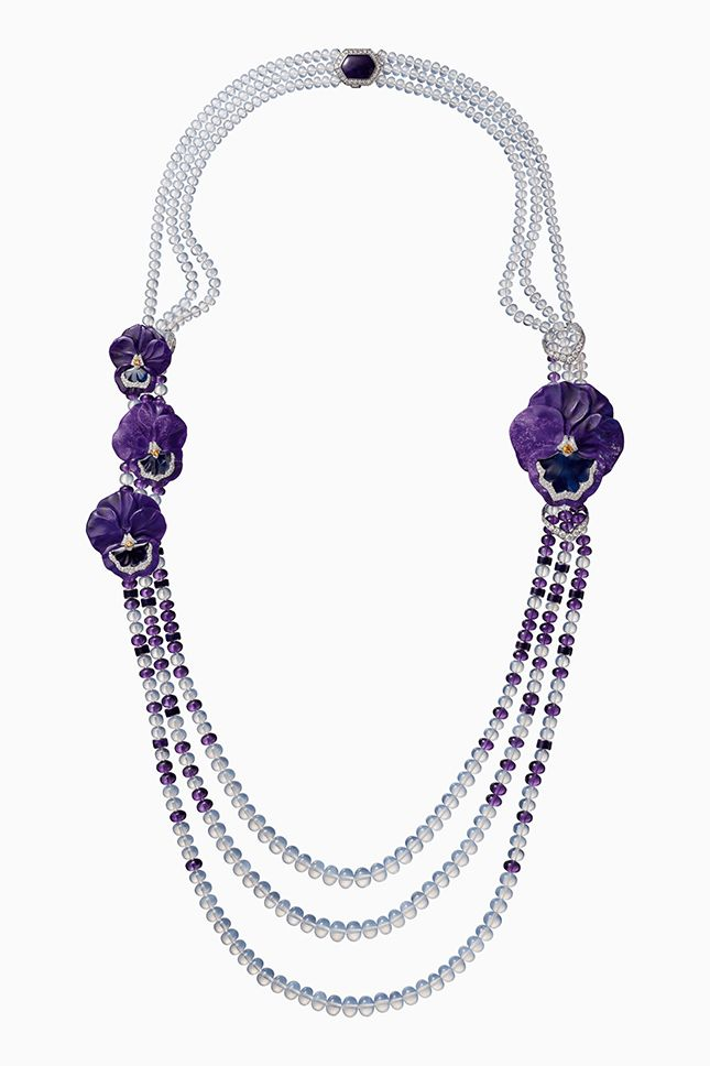 Cartier Resonances Necklacepurple