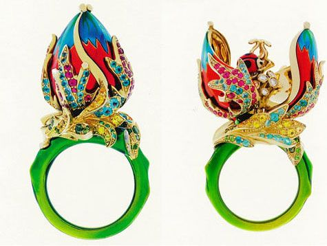 Dior jewelry the Fairytale World of Madame Victoire