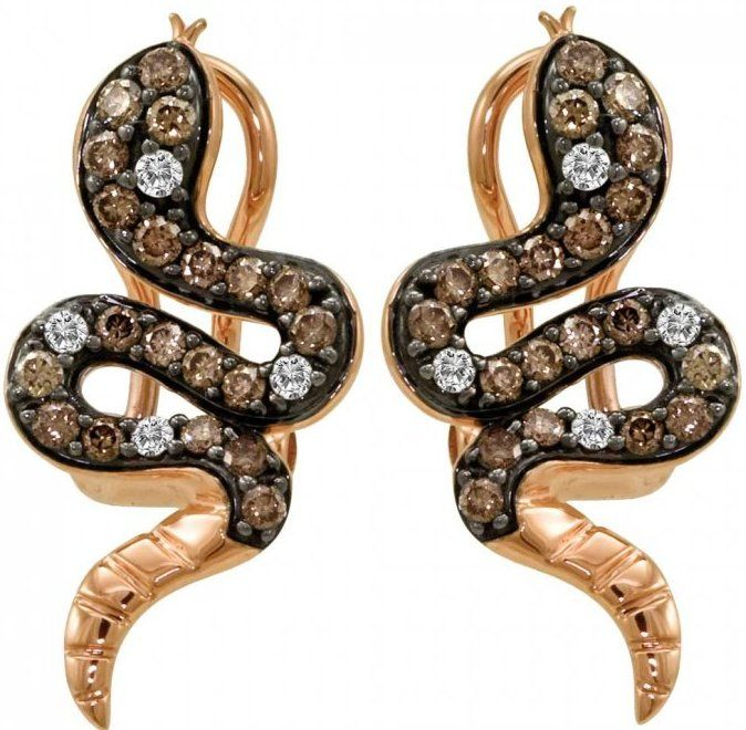 Le Vian Earrings snake