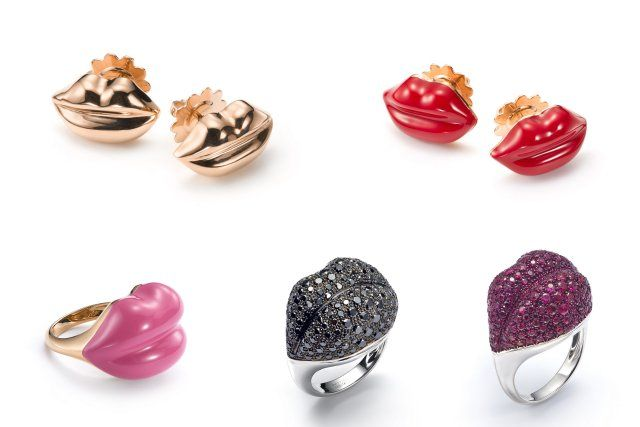 Mattioli lips rings favorite Bizzita