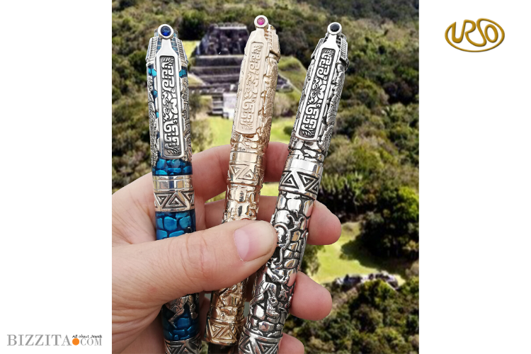Urso Quetzalcoatl Pen writing instrument Blog review Bizzita Esther Ligthart Luxury.4