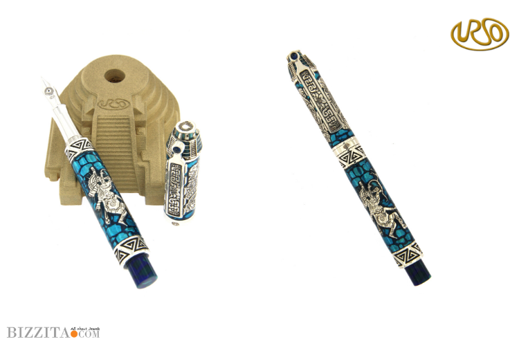 Urso Quetzalcoatl Pen writing instrument Blog review Bizzita Esther Ligthart Luxury.jpg 2