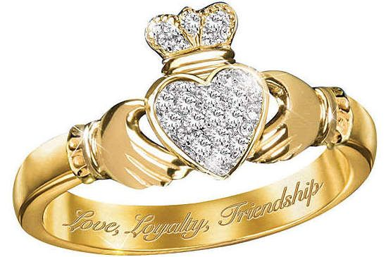 Wedding ring Claddagh2