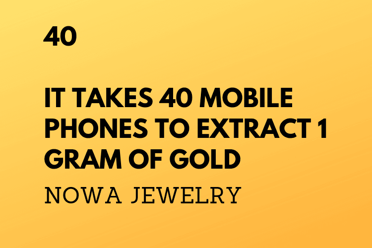 NOWA 1 Jewelry changeworldsustainablemobilephonesgold 5