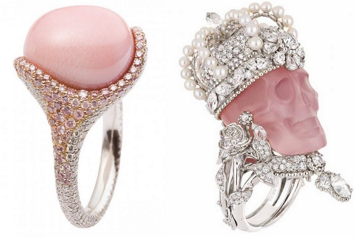 Pink rings Dior jewelry Bizzita 2016