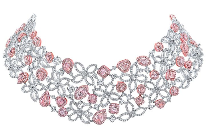 Tivoli Jewels. Diamonds 3183 64ct 813 natural pink diamonds