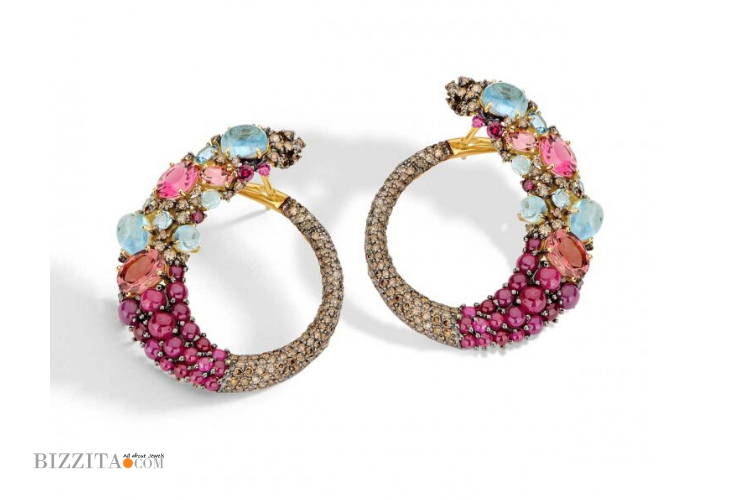 COLOR EARRINGS Jewelry BRUMANI