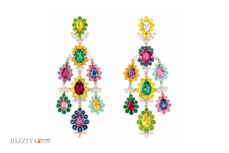 COLOR EARRINGS Jewelry Dior