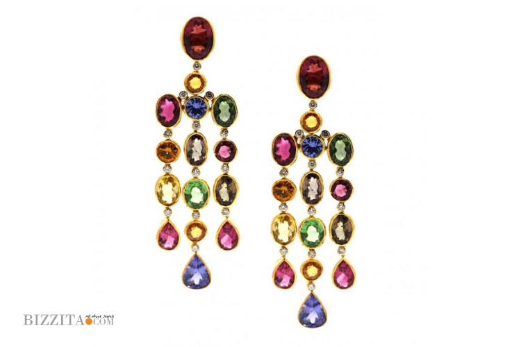 COLOR EARRINGS TRESORO