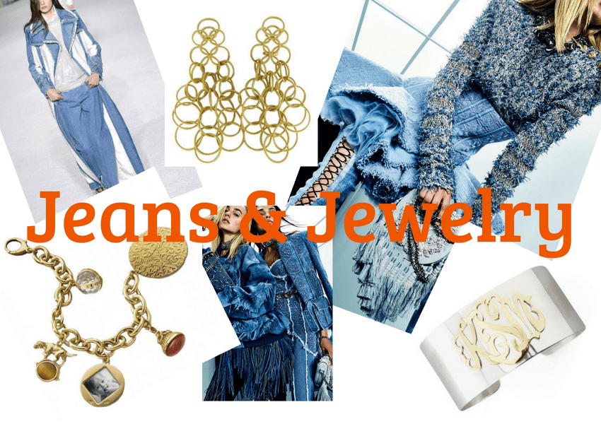 Trend 2019 2018 Jeans Jewelry Front