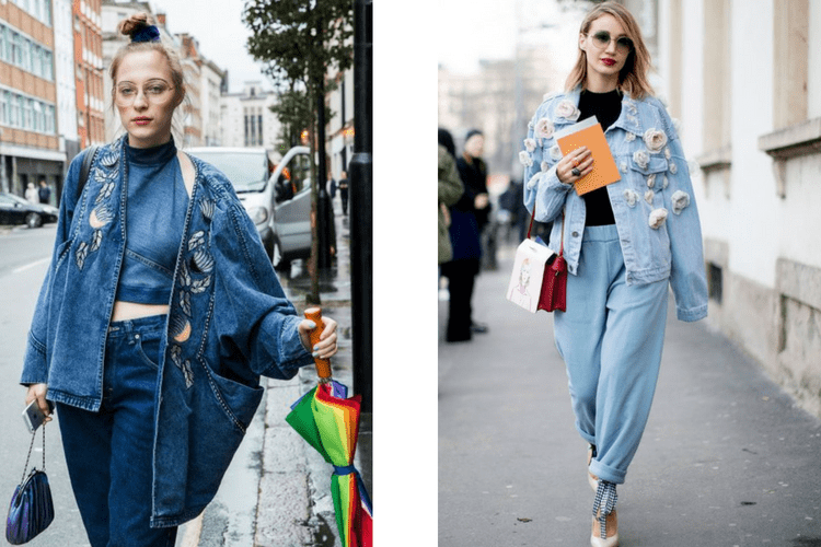 Trend 2019 2018 Jeans Jewelry Streetstyle