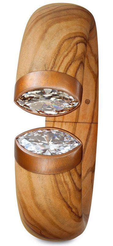 Hemmerle OliveWood Copper Diamonds trend14