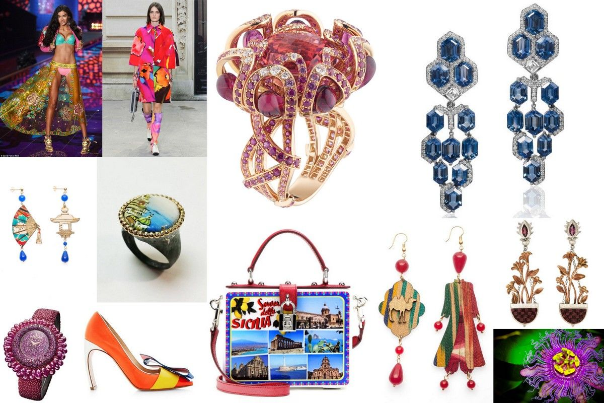 Jewelry trends 2015 color