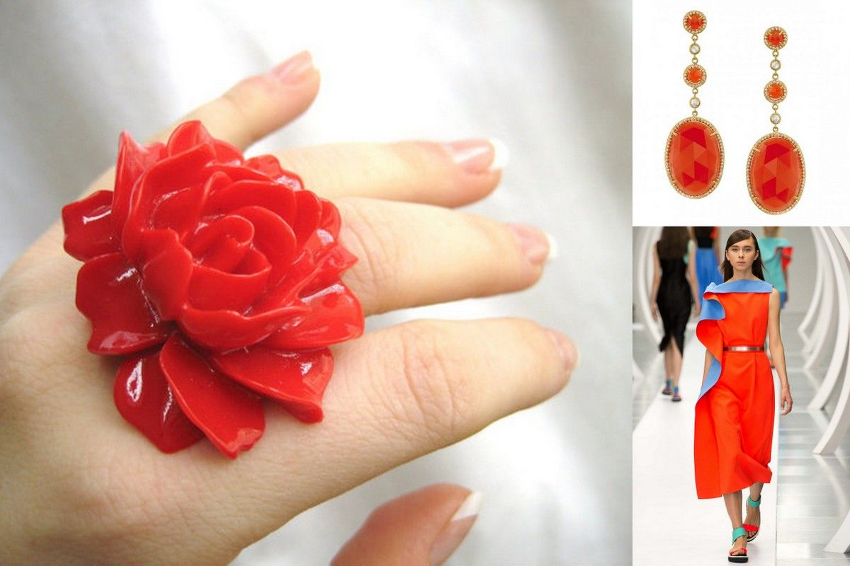 Red jewelry inspiration