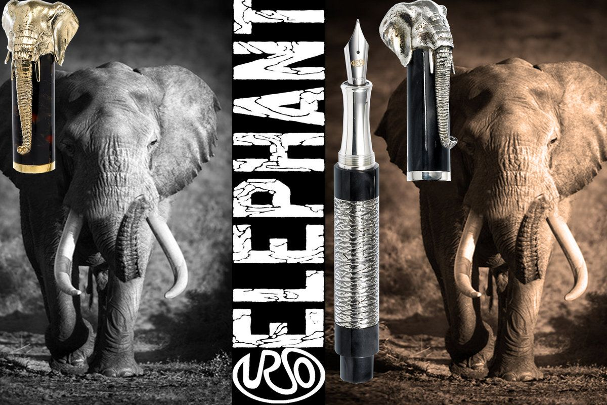 Elephant Pen Urso Luxury Bizzita