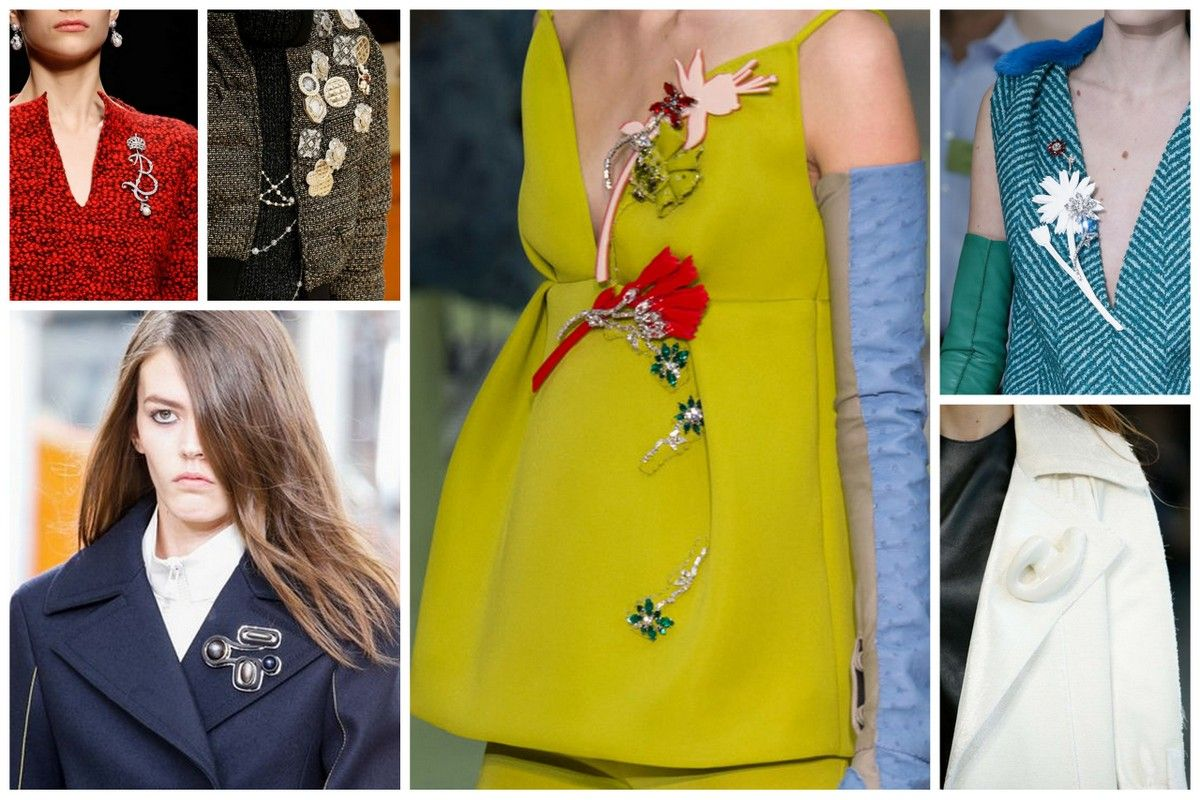 Trends fall 2015 fashion accessories jewelry brooches