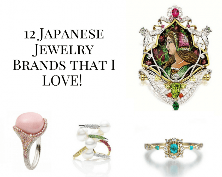 12 Japanese Jewelry Brands that I love!