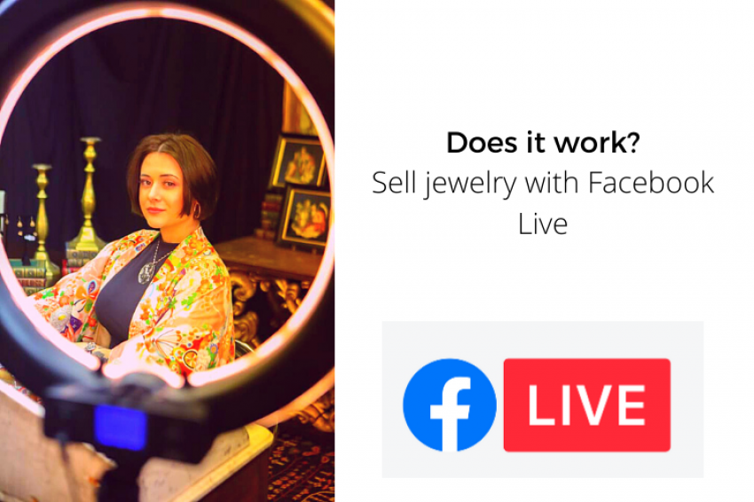Selling Jewelry with Facebook Live