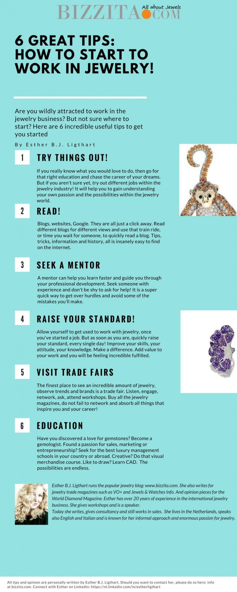 6 really useful tips on how to start to work in jewelry!