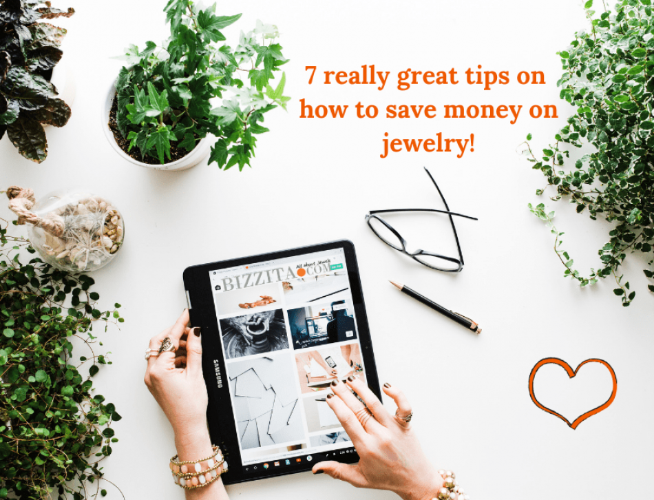 7 really great tips on how to save money on jewelry, engagement rings, and diamond jewelry!