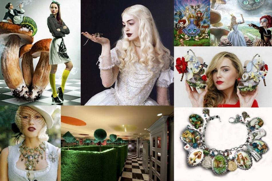 Alice in Wonderland jewelry