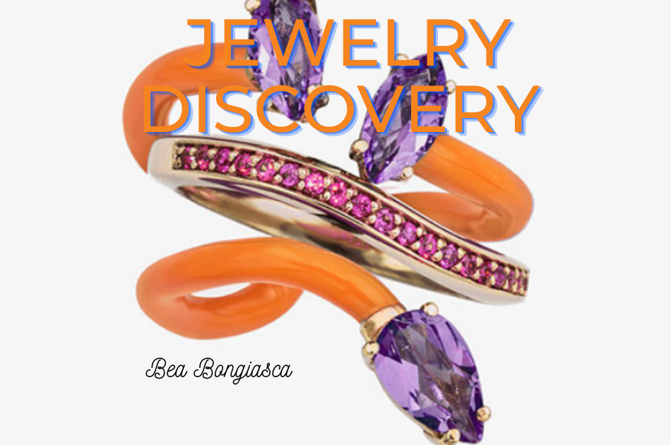 Jewelry discovery of the Day: Bea Bongiasca