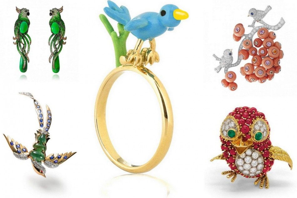 Spring jewelry, come hear the birds sing