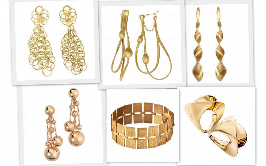 Bizzita loves bold gold jewelry