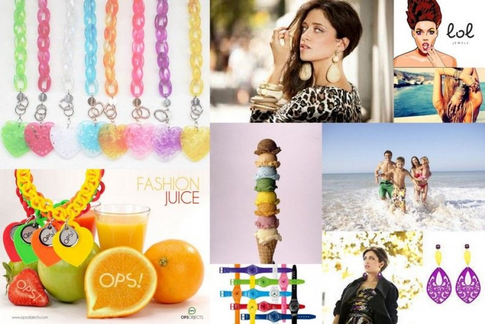 Bold summer jewelry!