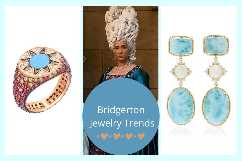 24 Jewels that capture the Bridgerton jewelry trend!