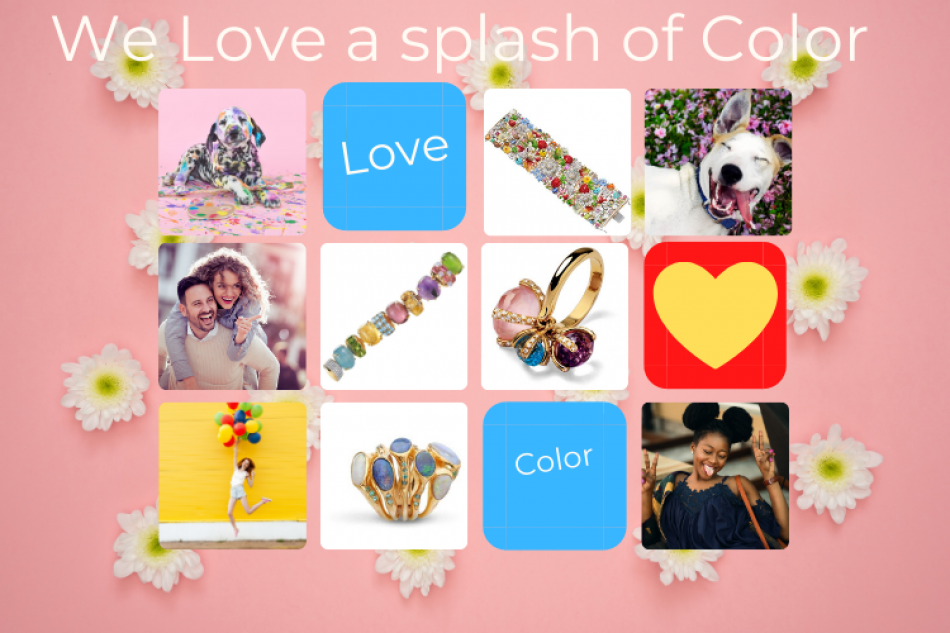 Splashes of Color: Happy Jewelry!