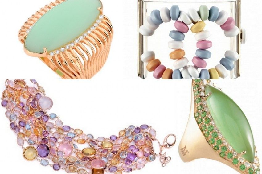 The biggest trends in jewelry for autumn and winter 2014-2015. Part 6. Wool and Candy