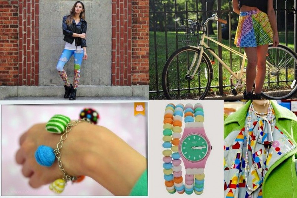 Candy Crush meets fashion