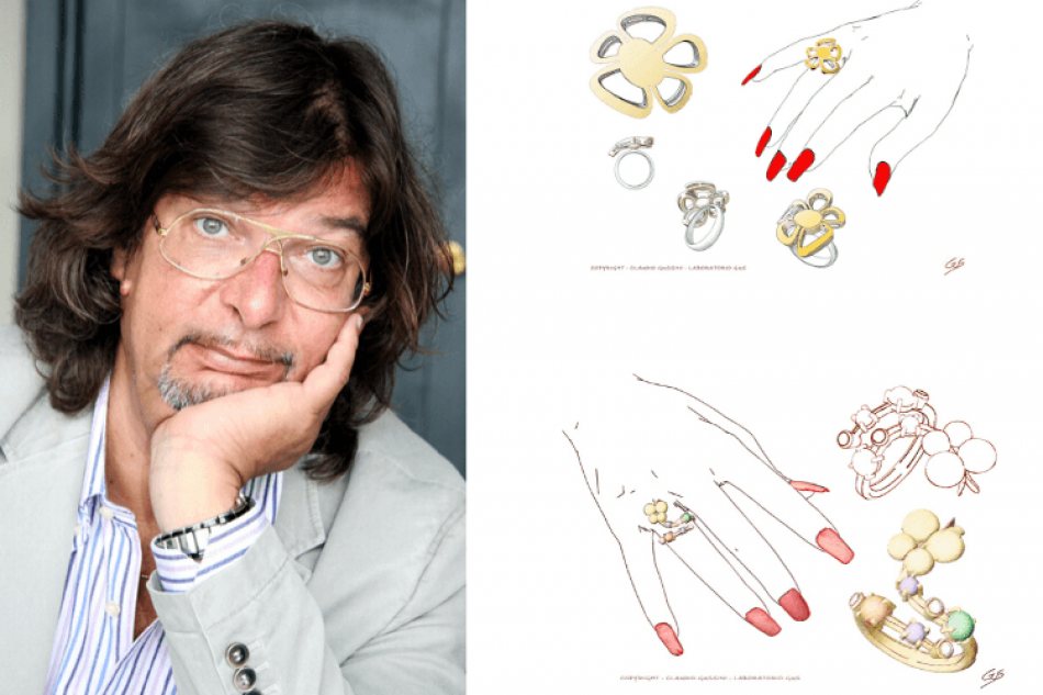 Claudio Gussini, Jewelry designer shares his insights about jewelry, design and career