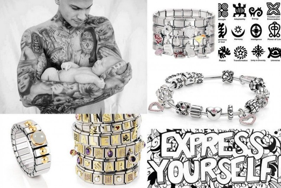 Jewelry to express yourself, the fascination of composable jewelry.