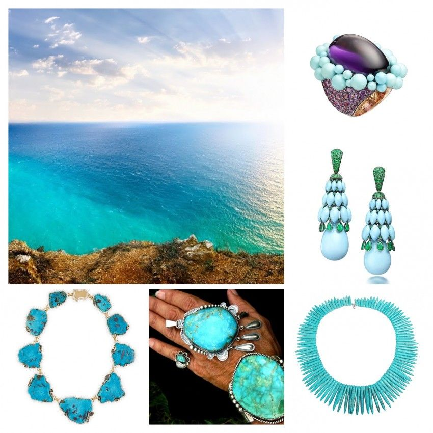Turquoise jewelry boosts your soul
